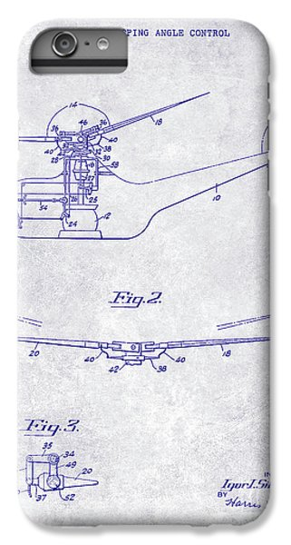1947 Helicopter Patent Blueprint IPhone 6 Plus Case