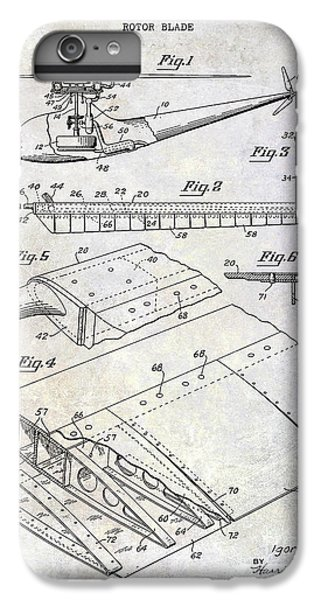 1949 Helicopter Patent IPhone 6 Plus Case by Jon Neidert