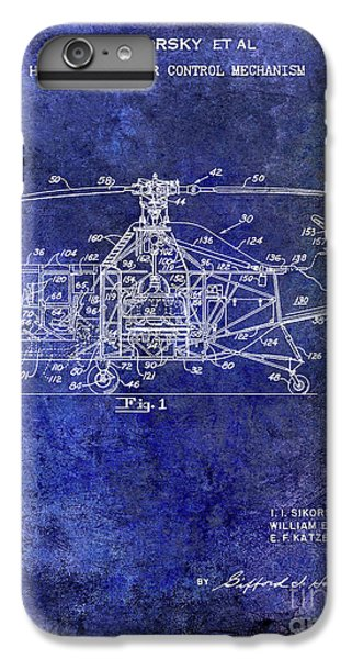 1950 Helicopter Patent IPhone 6 Plus Case by Jon Neidert