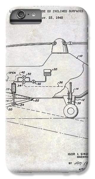 1953 Helicopter Patent IPhone 6 Plus Case
