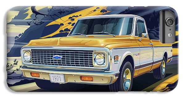 Truck iPhone 6 Plus Case - 1971 Chevrolet C10 Cheyenne Fleetside 2wd Pickup by Garth Glazier