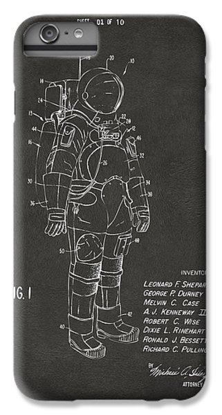 1973 Space Suit Patent Inventors Artwork - Gray IPhone 6 Plus Case