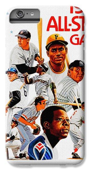 1974 Baseball All Star Game Program IPhone 6 Plus Case