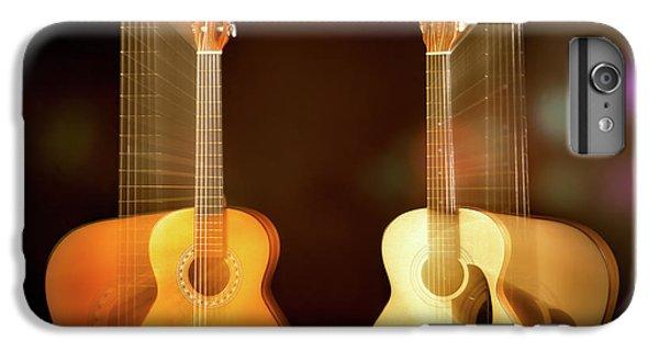 Acoustic Overtone IPhone 6 Plus Case by Leland D Howard