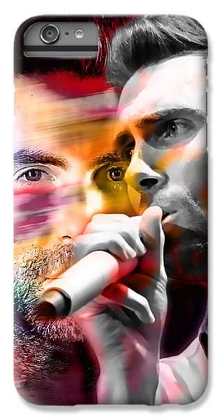 Adam Levine Maroon 5 IPhone 6 Plus Case by Marvin Blaine