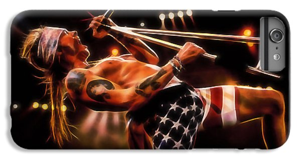 Musicians iPhone 6 Plus Case - Axl Rose Collection by Marvin Blaine