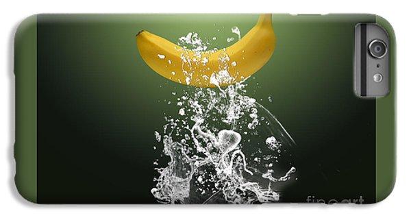 Banana Splash IPhone 6 Plus Case by Marvin Blaine
