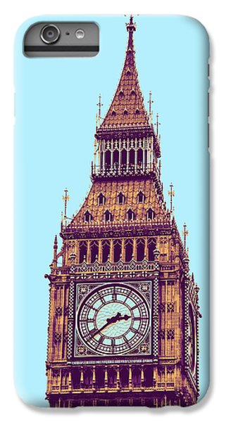 Big Ben Tower, London  IPhone 6 Plus Case by Asar Studios