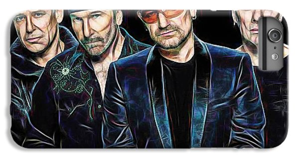 Bono U2 Collection IPhone 6 Plus Case by Marvin Blaine