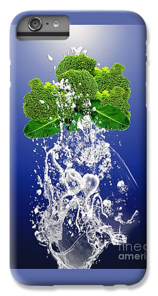 Broccoli Splash IPhone 6 Plus Case by Marvin Blaine