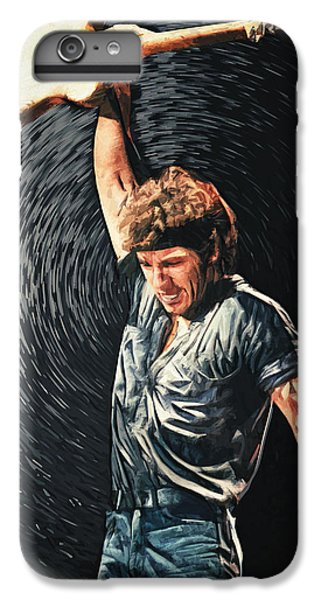 Folk Art iPhone 6 Plus Case - Bruce Springsteen by Zapista