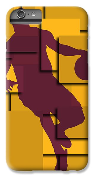 Cleveland Cavaliers Lebron James IPhone 6 Plus Case by Joe Hamilton