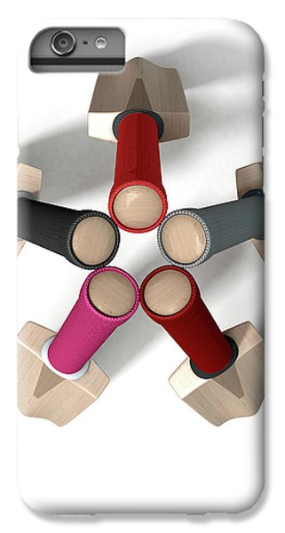 Cricket Bat Circle IPhone 6 Plus Case