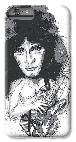 Eddie Van Halen IPhone 6 Plus Case by Gary Bodnar