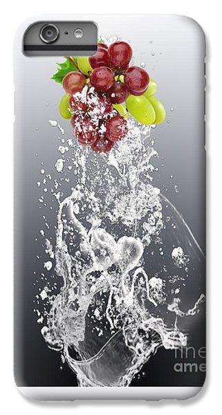 Grape Splash IPhone 6 Plus Case by Marvin Blaine