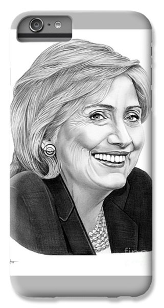 Hillary Clinton IPhone 6 Plus Case by Murphy Elliott