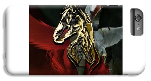 Horse Art Collection IPhone 6 Plus Case by Marvin Blaine