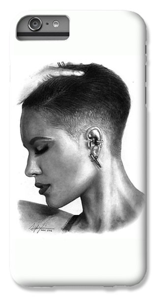 Halsey Drawing By Sofia Furniel IPhone 6 Plus Case