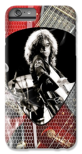 Jimmy Page Art IPhone 6 Plus Case by Marvin Blaine