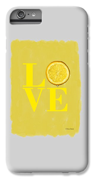 Lemon IPhone 6 Plus Case by Mark Rogan