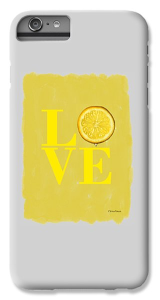 Lemon IPhone 6 Plus Case