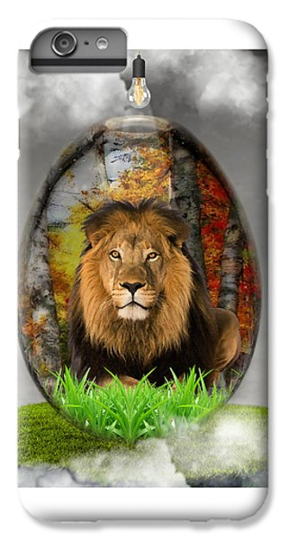 Lion Art IPhone 6 Plus Case