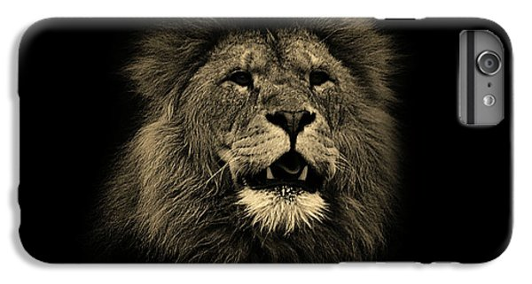 Lion Head iPhone 6 Plus Case - Lions Roar by Martin Newman