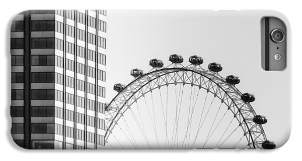 London Eye IPhone 6 Plus Case by Joana Kruse