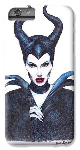 Maleficent  Once Upon A Dream IPhone 6 Plus Case by Kent Chua