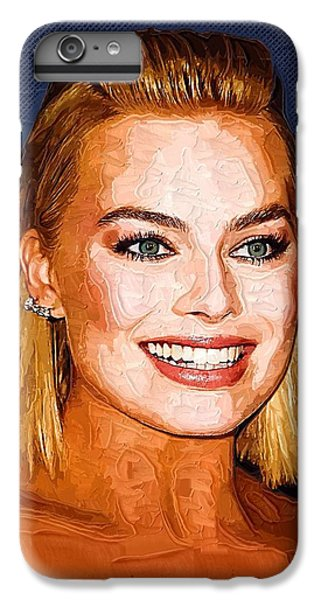 Margot Robbie Art IPhone 6 Plus Case