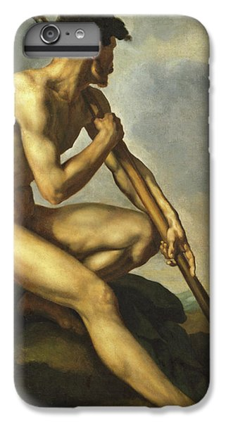 Barren iPhone 6 Plus Case - Nude Warrior With A Spear by Theodore Gericault