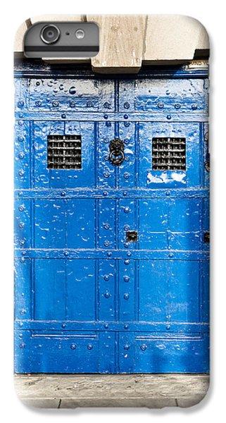 Dungeon iPhone 6 Plus Case - Old Blue Door by Tom Gowanlock