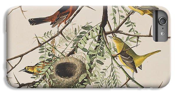 Orchard Oriole IPhone 6 Plus Case by John James Audubon
