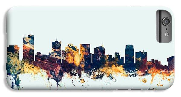 Phoenix iPhone 6 Plus Case - Phoenix Arizona Skyline by Michael Tompsett
