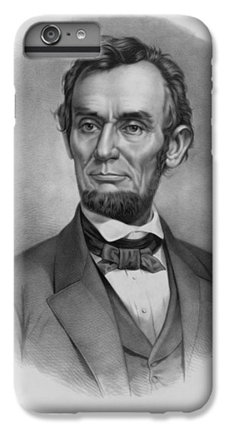 President Lincoln IPhone 6 Plus Case by War Is Hell Store