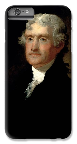 Thomas Jefferson iPhone 6 Plus Case - President Thomas Jefferson  by War Is Hell Store