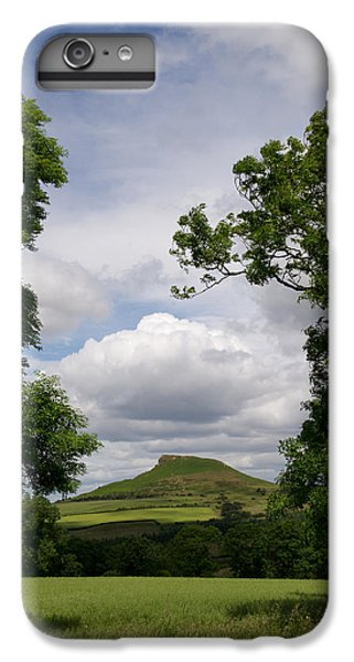 Roseberry Topping IPhone 6 Plus Case by Gary Eason