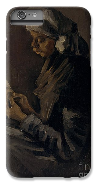 The Potato Peeler, 1885 IPhone 6 Plus Case by Vincent Van Gogh