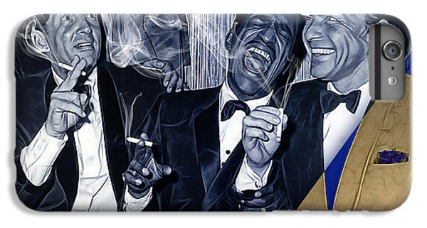 The Rat Pack Collection IPhone 6 Plus Case by Marvin Blaine