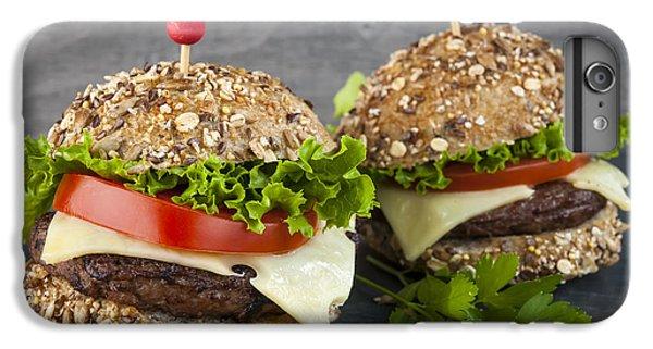 Two Gourmet Hamburgers IPhone 6 Plus Case