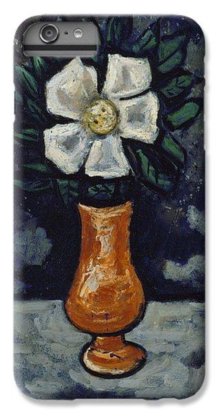 White Flower IPhone 6 Plus Case