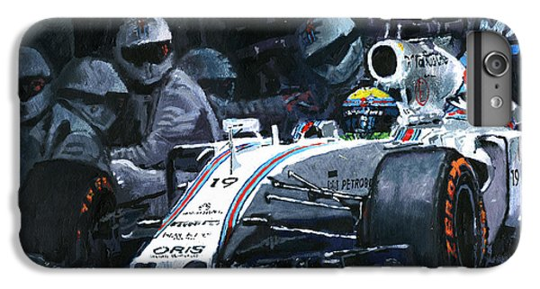 2015 Williams Fw37 F1 Pit Stop Spain Gp Massa  IPhone 6 Plus Case