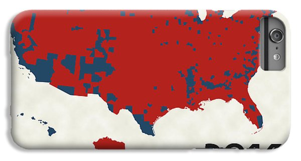 2016 Election Results IPhone 6 Plus Case by Finlay McNevin