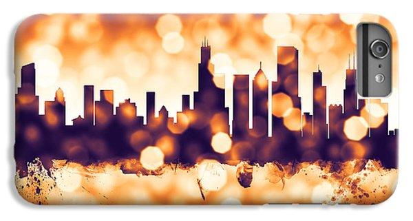 Chicago Illinois Skyline IPhone 6 Plus Case by Michael Tompsett