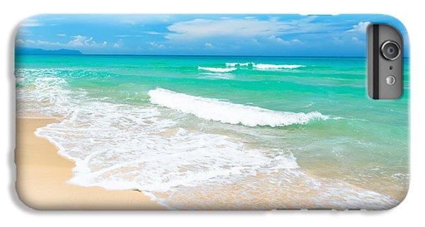 Water Ocean iPhone 6 Plus Case - Beach by MotHaiBaPhoto Prints