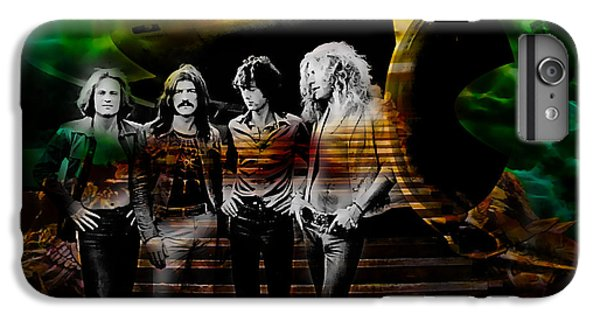Rock Music Jimmy Page iPhone 6 Plus Case - Led Zeppelin Collection by Marvin Blaine