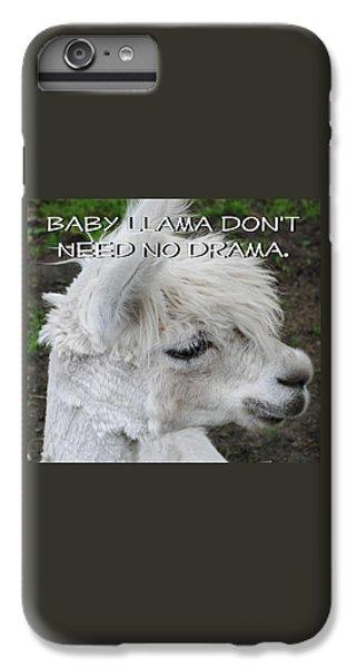 Baby Llama IPhone 6 Plus Case