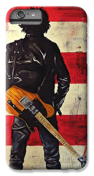 Bruce Springsteen IPhone 6 Plus Case by Francesca Agostini