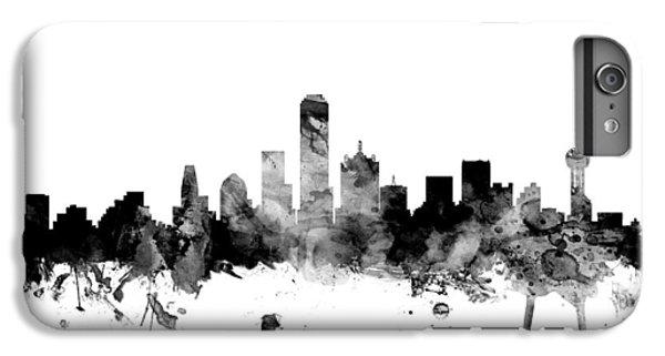 Dallas Texas Skyline IPhone 6 Plus Case by Michael Tompsett