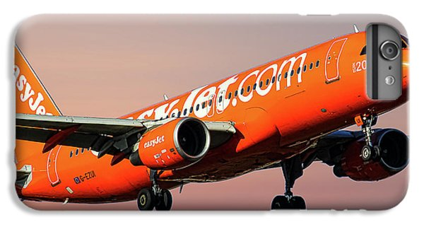 Jet iPhone 6 Plus Case - Easyjet 200th Airbus Livery Airbus A320-214 by Smart Aviation
